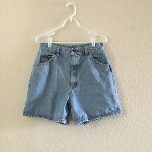 Vintage Lee high waisted shorts